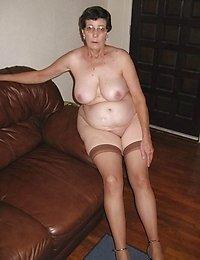 kinky grannies posing nude